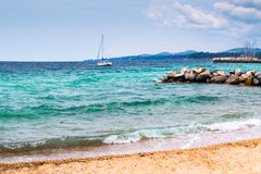 Summer resort of Halkidiki peninsula Stock Images