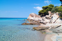 Summer resort of Halkidiki peninsula Stock Image