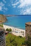 Summer resort of Halkidiki peninsula, Greece Royalty Free Stock Images