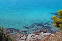 Summer resort of Halkidiki peninsula Stock Images
