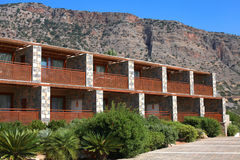 Summer resort holiday villa,Crete, Greece Stock Image