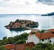 Summer resort landscape, Budva, Adriatic sea Royalty Free Stock Photos