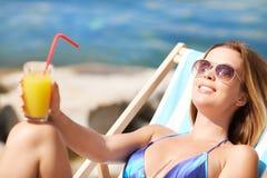 Summer resort Royalty Free Stock Photo