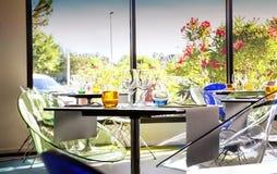 Summer restaurant Stock Photography
