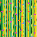 Summer retro pattern Stock Images