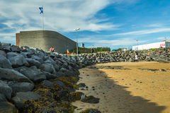 Summer  in Reykjavik Iceland Royalty Free Stock Photography