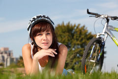 Summer riding Stock Photography