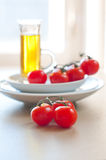 Summer ripe cherry tomatoes Royalty Free Stock Images