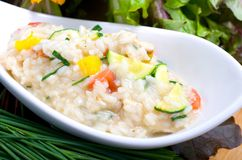 Summer risotto Royalty Free Stock Photography