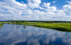 Summer river Stock Photo