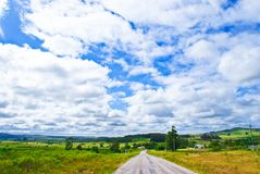 Summer road Royalty Free Stock Photography