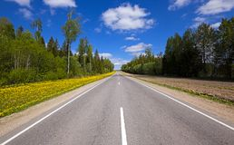 Summer road Stock Images