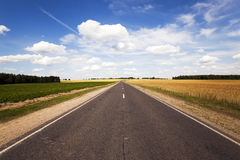 Summer road ,  summer Royalty Free Stock Photo