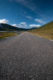 Summer road to Nordkapp/Northcape, Norway Royalty Free Stock Images