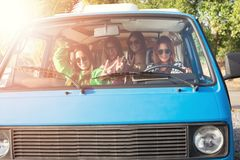 Summer Road-Trip royalty free stock photo