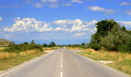 Summer road Stock Image