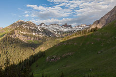 Summer in the Rockies Royalty Free Stock Photos