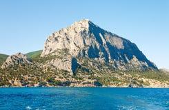 Summer rocky coastline Royalty Free Stock Image