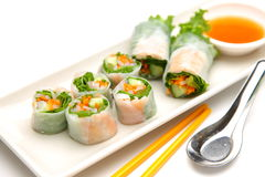 Summer roll Royalty Free Stock Photo