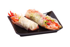 Summer Roll ,  Vietnamese Food Royalty Free Stock Image