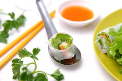 Summer rolls Stock Photo