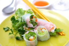 Summer rolls Stock Image