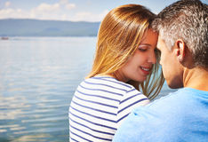 Summer romance Stock Images