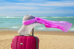 Summer romantic vacation Royalty Free Stock Images