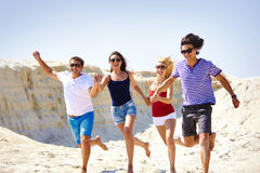 Summer runners Royalty Free Stock Photo
