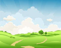 Free Summer Rural Landscape Royalty Free Stock Photography - 92949997