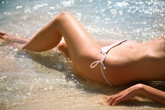 Summer's girl Stock Photo