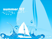 Summer Sail Royalty Free Stock Images
