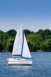 Summer sailing Stock Images