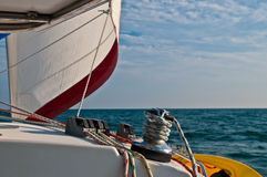 Summer Sailing Royalty Free Stock Images