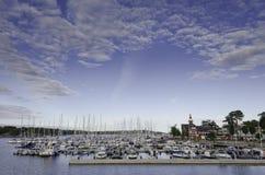 Summer sailing Stock Image
