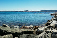 Summer in Saint tropez Royalty Free Stock Image