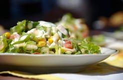 Summer salad. Fresh and tasty summer salad Stock Photo