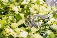 Summer salad Stock Photos