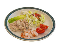 Summer Salad Plate Royalty Free Stock Photography
