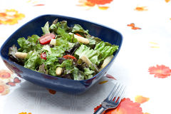 Summer Salad With Asparagus And Tomatoes Royalty Free Stock Photos