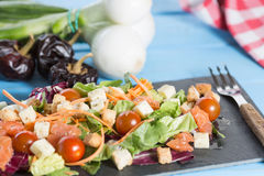Summer salads Royalty Free Stock Photo