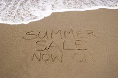 Summer Sale 01 Royalty Free Stock Photos