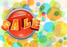 Summer sale Stock Images