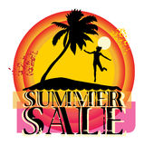 Summer sale abstract Stock Photo