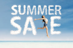 Summer sale advertising 1 Royalty Free Stock Image