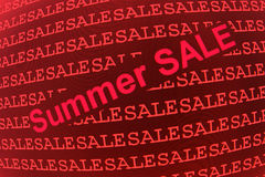 Summer sale background Royalty Free Stock Image