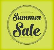Summer sale background stock image