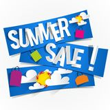 Summer Sale Background Stock Photos