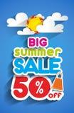 Summer Sale Stock Image