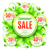 Summer Sale Background Royalty Free Stock Photos